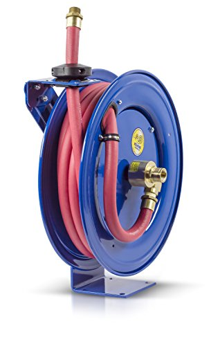 "Coxreels EZ-SHF-525 Safety System Spring Driven Fuel Hose Reel 3/4"" x 25"