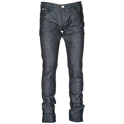Armani Vaqueros BLU Hombre Pantalones Denim de Jeans Emporio Nuevo ATwd4qq