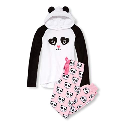 The Children's Place Women's Adult MOM Panda Set, White, XXL -