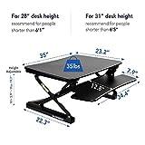 FlexiSpot Height Adjustable Standing Desk Riser