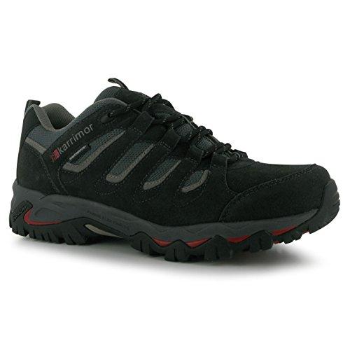 Karrimor Mens Mount Low Walking Shoes Lace Up Treking Hiking Weathertite...