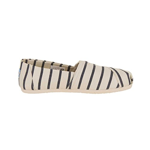 Toms Womens Classic Casual Shoe White / Navy
