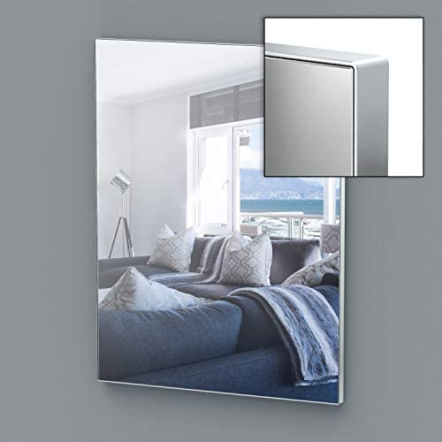 Gatco Perfect Reflections Mirror, 32 H x 24 W, Chrome