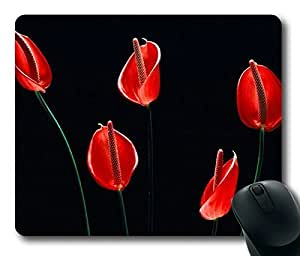 Free Floral Fashion Personlized Masterpiece Limited Design Oblong Mouse Pad by Cases & Mousepads