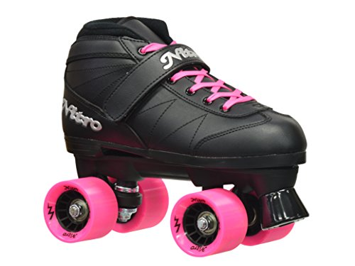 Epic Skates Super Nitro Indoor/Outdoor Quad Speed Roller Skates (Outdoor Quad)