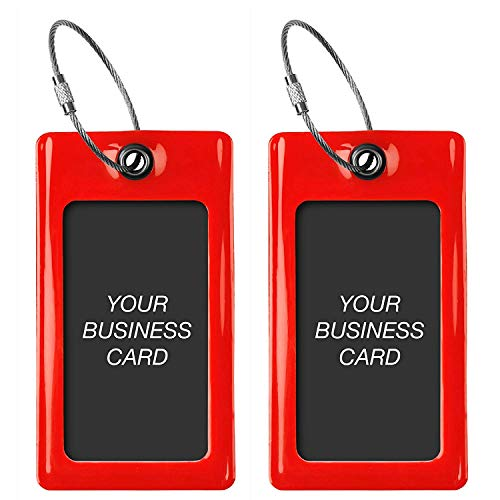 - Luggage Tags TUFFTAAG, Business Card Holder, Suitcase Labels, Travel Accessories