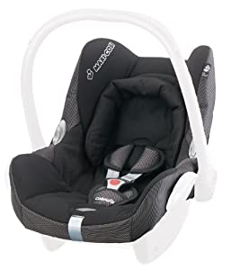 maxi cosi cabriofix replacement seat cover black reflection baby. Black Bedroom Furniture Sets. Home Design Ideas