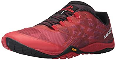 Merrell Men's Trail Glove 4 Runner, Molten Lava, 7 M US
