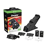 Microsoft licensed Energizer 2X Charging System for Xbox One - Standard (Black) Edition