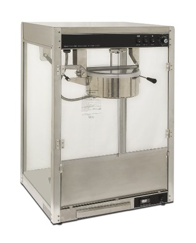 Benchmark 11147 Silver Screen Chassis Assembly, 14-Ounce Popcorn Popper