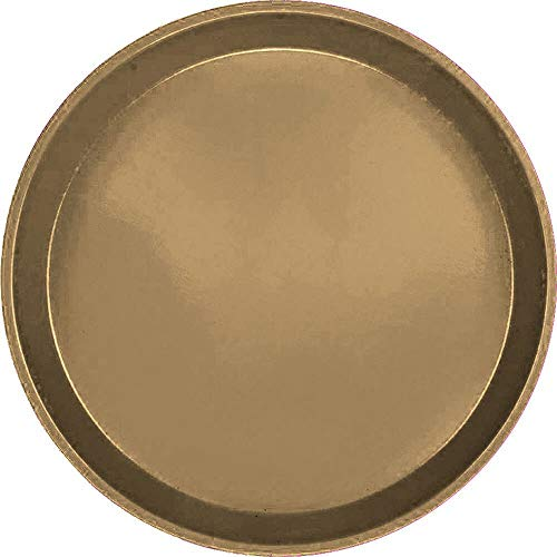 - Serving Camtray, Round, 11'' Diameter, Fiberglass, Aluminum Reinforced Rim, Bay Leaf Brown, Nsf (12 Pieces/Unit)
