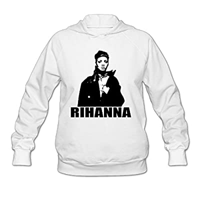 Wesley Rihanna Anti Wen's Soft Fleece Sweatshirt White