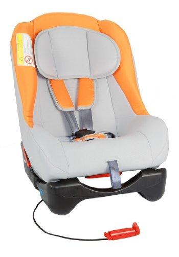Autokindersitz GALAXY von UNITED-KIDS, PO Grey 02-Orange, Sonderpreis wegen Lagerräumung, Gruppe 0+/I, 0-18 kg