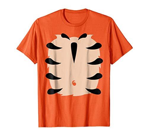 Tiger Costume Shirt Funny Halloween TShirt Kids Adult Design]()