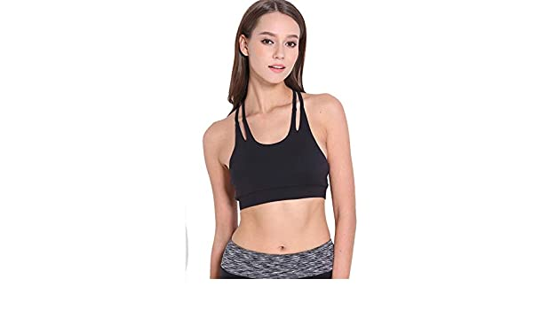 Amazon.com: GOP Store Sexy Sport Bra for Women Running Fitness Athletic Vest Popular Sport Bra Hollow Out Yoga Top Push Up Underwear for Woman: Kitchen & ...