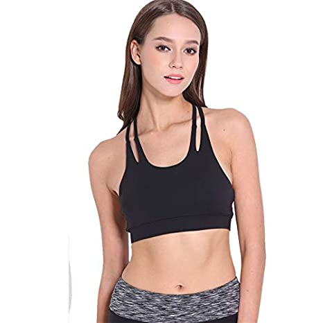 9c15878f9c41 Image Unavailable. Image not available for. Color: GOP Store Sexy Sport Bra  for Women Running Fitness ...