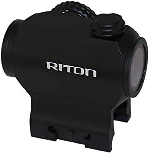 Riton Micro Dot Rifle Red Dot - RT-R Mod 3 RMD , Black
