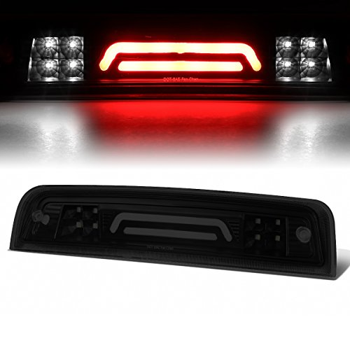 Bar Replacement Brake Oem - For 09-17 Dodge RAM Truck 3D LED Bar 3rd Third Tail Brake Light Rear Cargo Lamp (Black/Smoked)