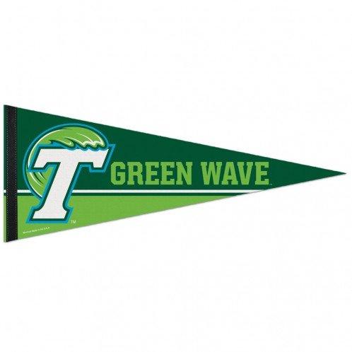 WinCraft NCAA Tulane University Premium Pennant, 12