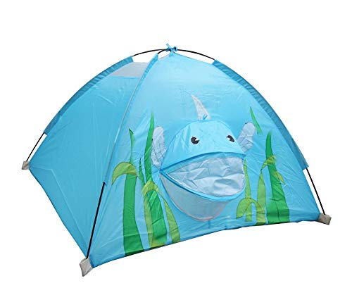 Children Animal Camping Dome Playhouse – 120 x 120 x 80cm, Kids Play Tent for Indoor, Outdoor Activities, Designer Tent…