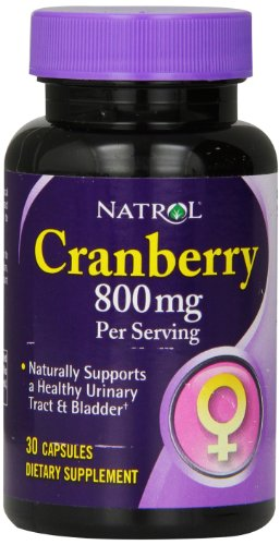 Natrol Cranberry Capsules 800mg Count