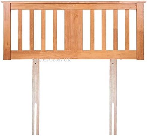 Gere Headboard by Sweet Dreams Solid Wood Finished in Oak Double