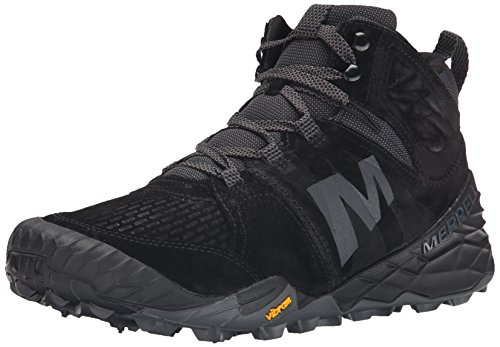 Merrell Mens Terra Turf Mid Boot Black