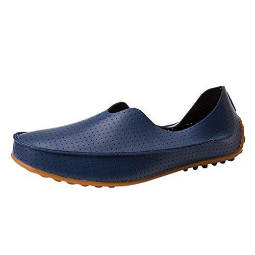 Scarpe 40 Barca Elegante Blu Uomo Scarpe Dooxi Durevole Piatto Casuale Moda Mocassini 8z6nPq5wx