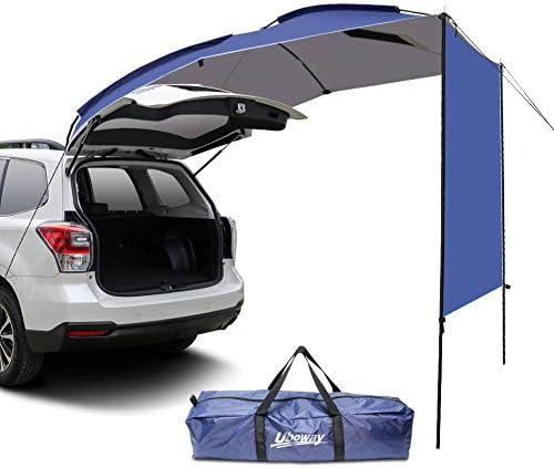 Blentude Minivan Toldo de toldo para caravana o caravana al aire libre impermeable ligero Sedan camping Hatchback para SUV MPV