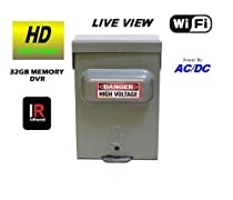 TRUE DAY & NIGHT VISION POWER BOX WITH WIFI LIVE REMOTE VIEWING BUILT-IN SELF RECORDING HIDDEN CAMERA DVR, HIGH DEFINITION