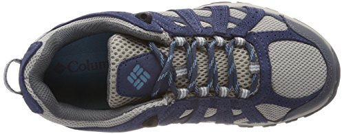 Le Scarpe Da Tennis Delle Donne Columbia, Impermeabile, Punto Canyon Grigio (colomba, Canyon Blu)