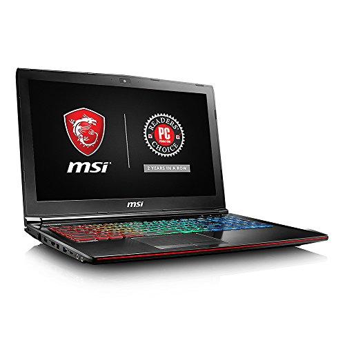 MSI GE62MVR Apache Pro-041 15.6' Premium Gaming Laptop i7-7700HQ GTX 1070 8G 16GB 128GB SSD + 1TB Win 10 Full Color Keyboard VR Ready