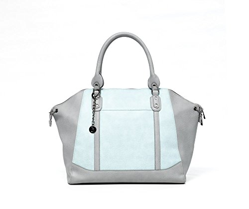 Baby Sense Charmaine Mom & Baby Diaper Bag/Handbag | Fashion + Function Purse & Tote Bag | Large Capacity & Lightweight, Change Mat, Stroller Strap, Waterproof Bottle/Travel Organizer ()