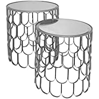 Three Hands Accent Table (Set of 2)