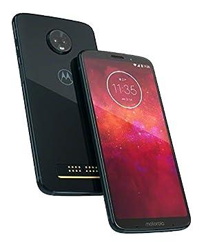 Motorola Moto Z3 Play UK Dual SIM-Free Smartphone, Deep Indigo