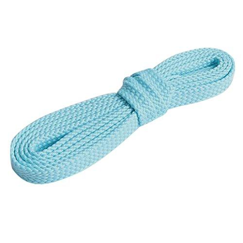 light blue laces - 6