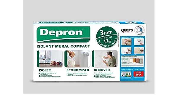 formato G3 de 3 mm de grosor, 20 placas de 1 m2 color blanco Depron Quelyd Placas Depron