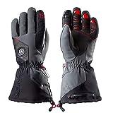 Zanier AVIATOR.GTX UX Lithium Battery Heated Glove, Black, X-Large