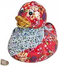 Bavaria-home-style-collection Hucha – Vacaciones – Hucha – Caja registradora – – Hucha – Pato con pañuelo Flores B 16 x t 13 x h 16 cm: Amazon.es: Juguetes y juegos