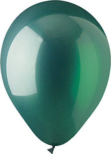 CTI Industries 100 Count Crystal Latex Balloons, 12