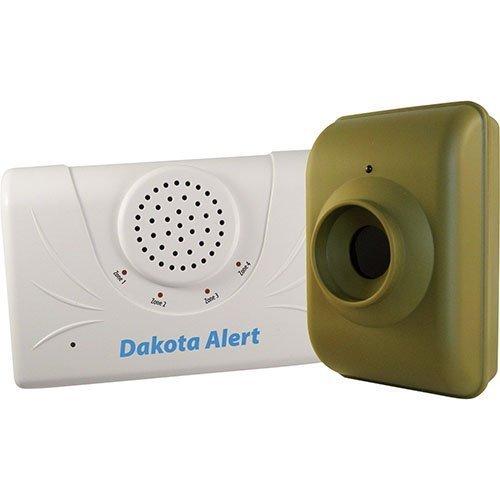 Dakota Alert 2500 Series 1/2 Mile Wireless Motion Detector Alarm & Visitor C