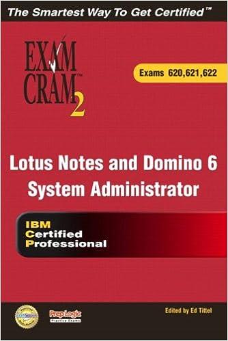 Lotus Notes and Domino 6 Application Development Exam Cram 2 (Exam 610, 611, 612)