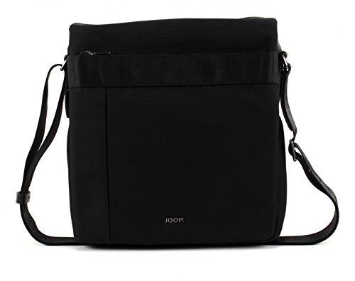 JOOP! Darius Pure Nylon Flap Bag Medium Black