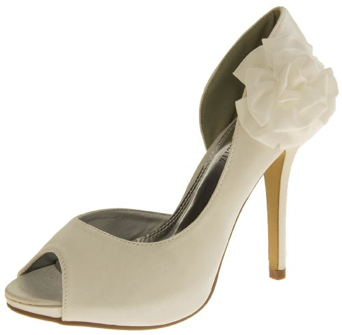 Ivory Glitz Bout Glamour N Femmes Ouvert White p1WqAg