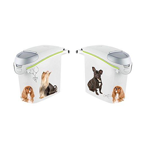 Curver Futtertonne 6 KG/ 18 L Hund Box Tonne Container Futterbehälter Petlife