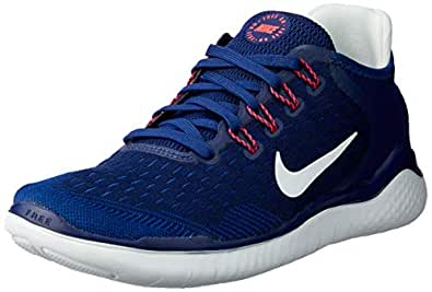 Nike Women's Free RN 2018 Running Shoes, Blue Void/Indigo Force/Ghost Aqua, 6 US
