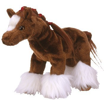 Ty Beanie Babies Hoofer - Clydesdale Horse