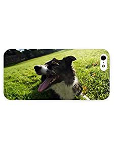 3d Full Wrap Case for iPhone 5/5s Animal Border Collie36