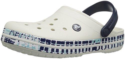 Mesh Clog Navy Print Crocs Crocs Mule Womens Womens Crocband Oyster Uwn4BPxIn