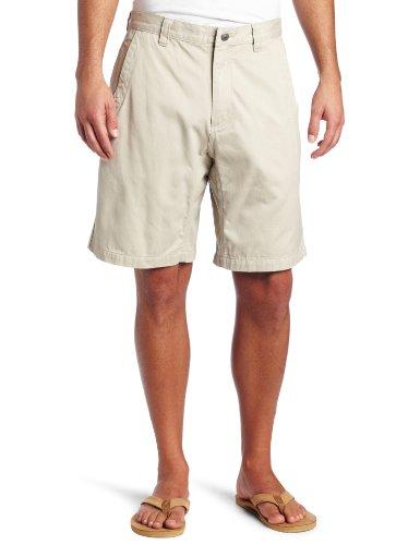 Mountain Khaki - Mountain Khakis Men's Teton Twill Short Relaxed Fit (Stone, 44-Width)